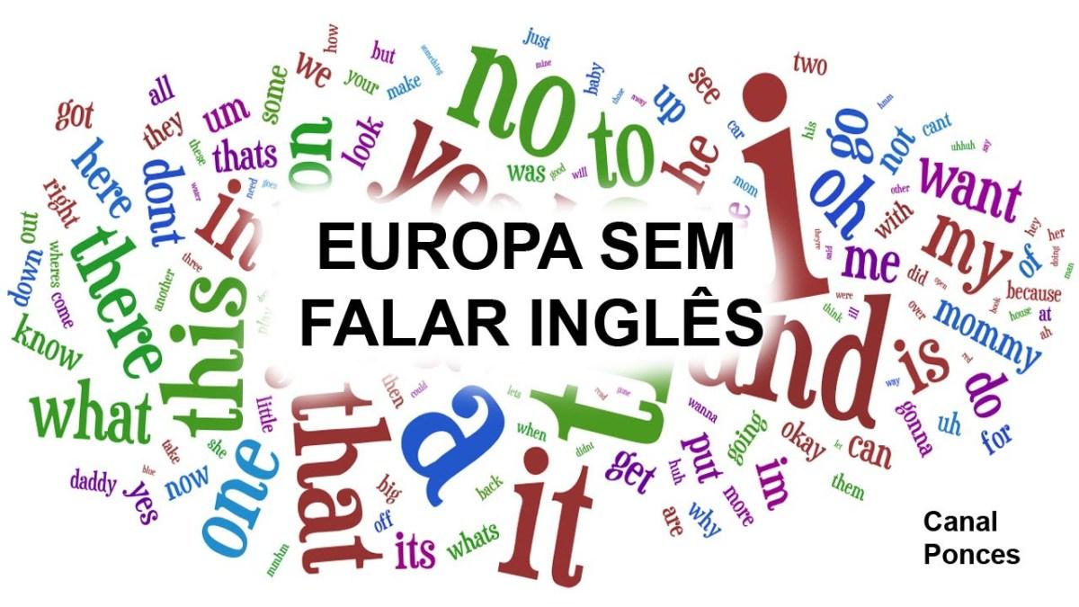 Em Portugal fala-se inglês! E você?