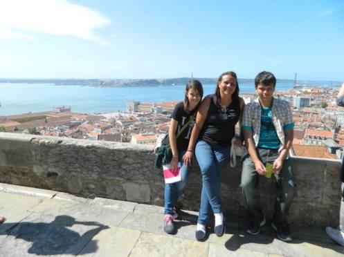 lisboa portugal castelo de sao jorge